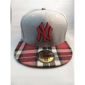 New Era New York Yankees Plaid Hat Cap